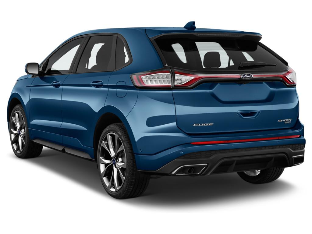 Ford Edge Sport Awd Angular Rear Exterior View