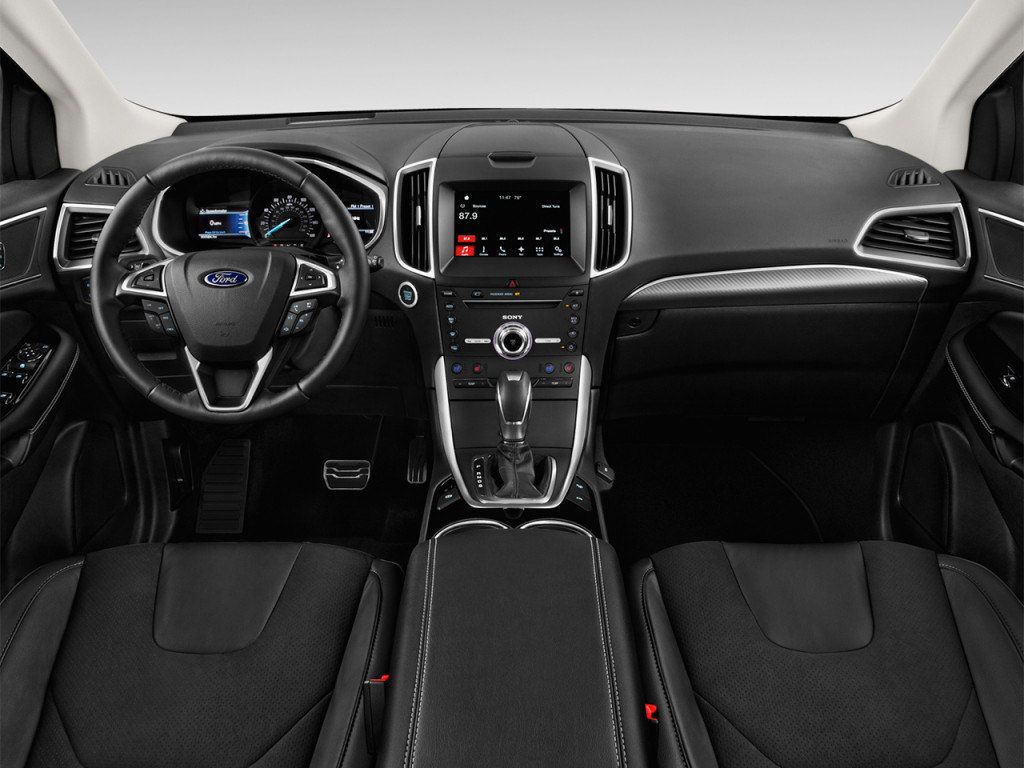 Image: 2018 Ford Edge Sport AWD Dashboard, size: 1024 x ...