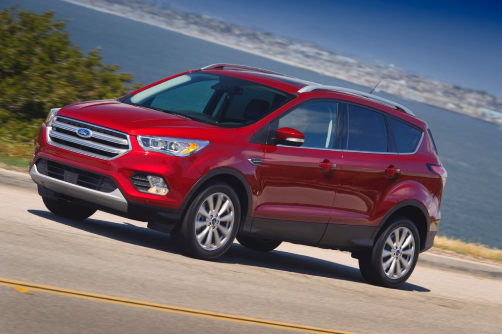 2018 Ford Escape Review Ratings Specs Prices And Photos The Car Connection