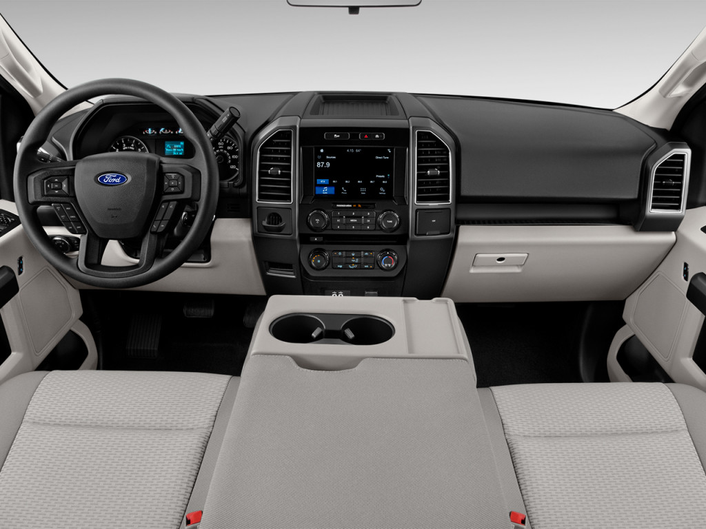 Image: 2018 Ford F-150 XLT 2WD SuperCab 6.5' Box Dashboard, size: 1024 x 768, type: gif, posted ...