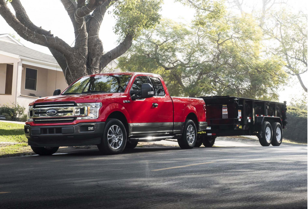 The Ford F-150 diesel hits 30 mpg highway