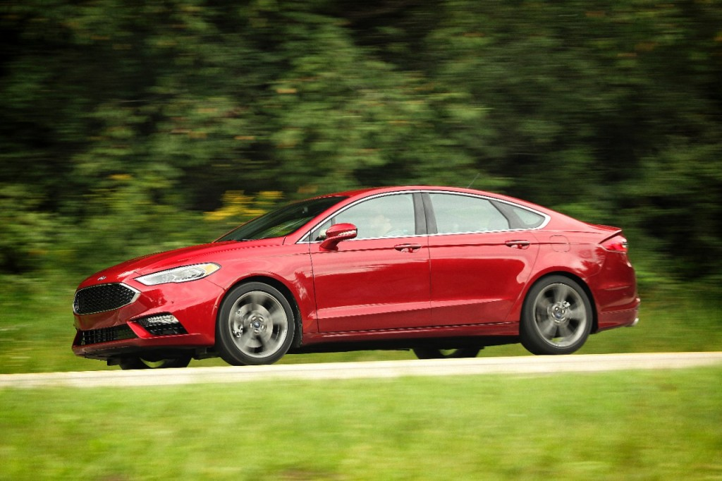 2018 Ford Fusion Review Ratings Specs Prices And Photos The Car Connection