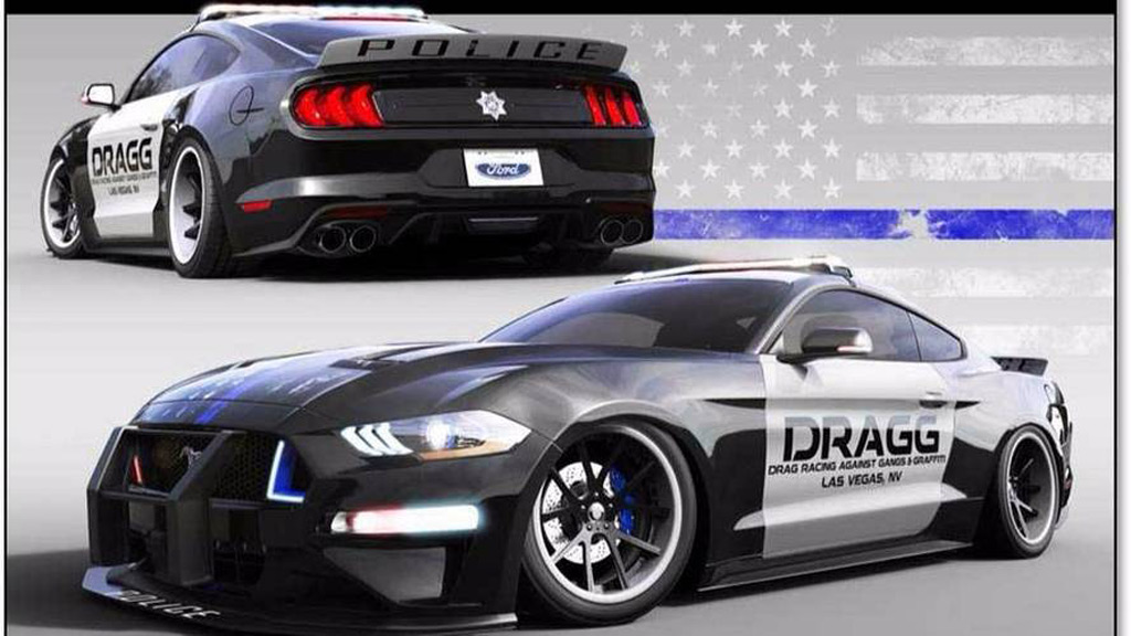 2018 Ford Mustang by DRAGG, 2017 SEMA show