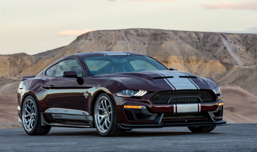 2018 Ford Shelby Super Snake boasts new look, more power