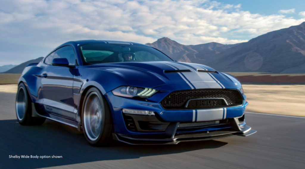 2018 Ford Shelby Super Snake boasts new looks, more power