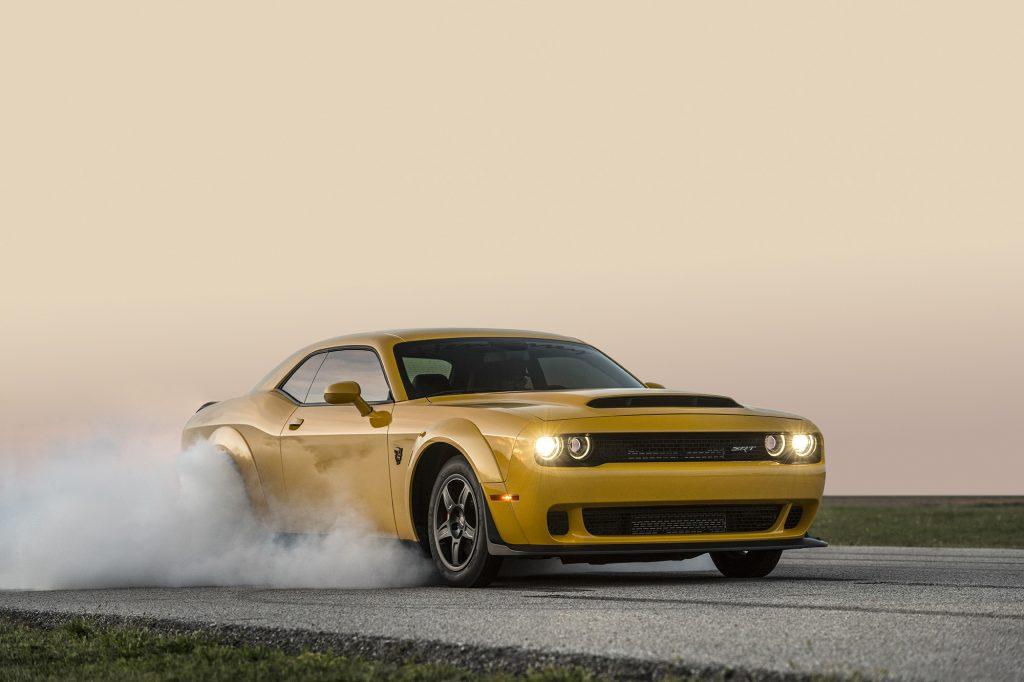 Hennessey's Dodge Challenger SRT Demon makes 1,013 HP...at the wheels