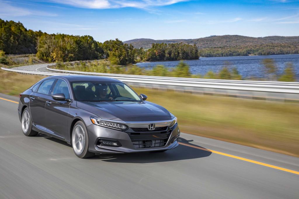 2018 Honda Accord premium-priced from $24,445
