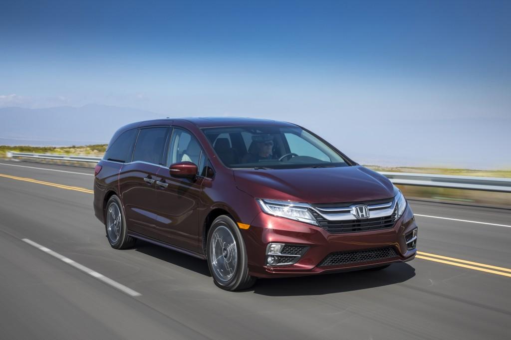 Image 2018 Honda Odyssey Elite Size 1024 X 682 Type