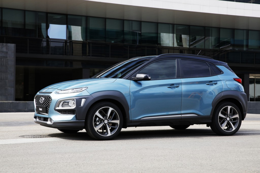 Surf's up: Hyundai announces crossover onslaught starting with Kona