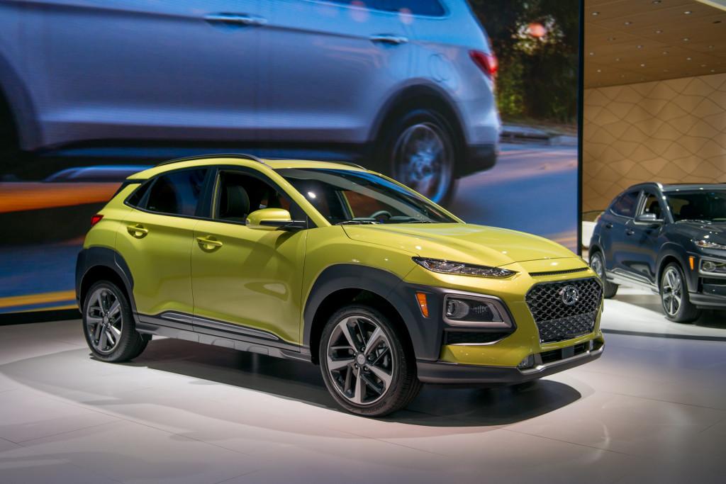 2018 Hyundai Kona small crossover debuts at LA auto show