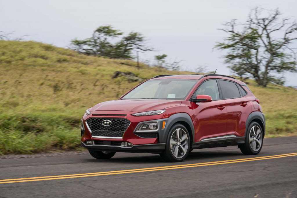 2018 hyundai kona aces iihs crash testing earns top safety pick nod in top trim. Black Bedroom Furniture Sets. Home Design Ideas