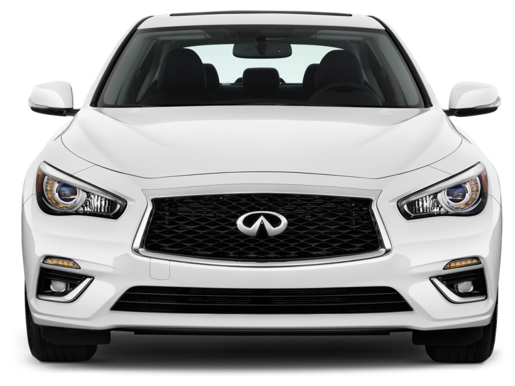 Image: 2018 INFINITI Q50 3.0t LUXE RWD Front Exterior View ...