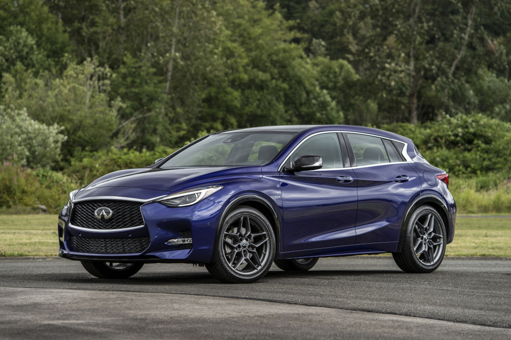 Updated 2018 Infiniti QX30 adds safety tech, reshuffles ...