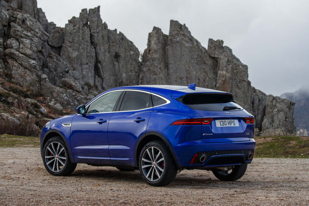 2018 Jaguar E-Pace first drive review: small crossover ...