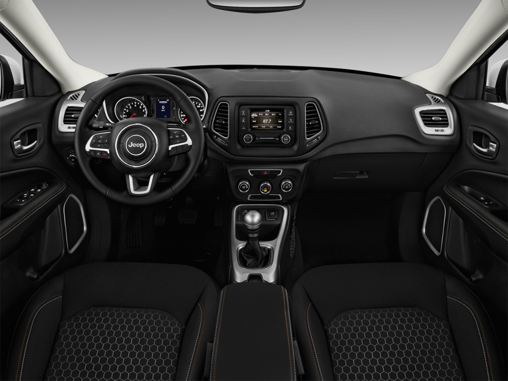 Image 2018 Jeep Compass Sport Fwd Dashboard Size 1024 X