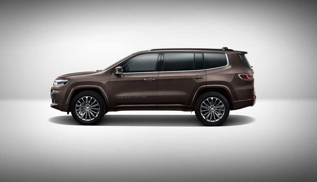 Jeep Grand Commander debuts at 2018 Beijing auto show