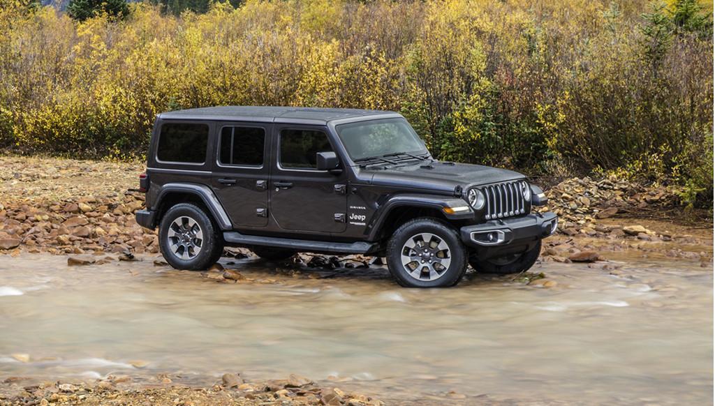 2019 Jeep Wrangler pickup (Srambler) spy shots