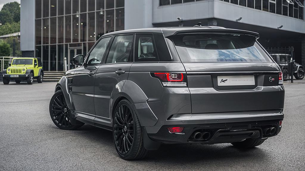 Kahn Design builds wild Land Rover Range Rover Sport SVR
