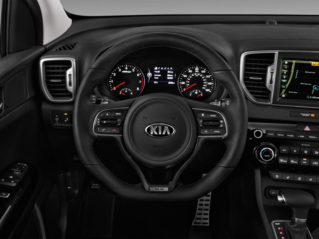 Image 2018 Kia Sportage Sx Turbo Fwd Steering Wheel Size