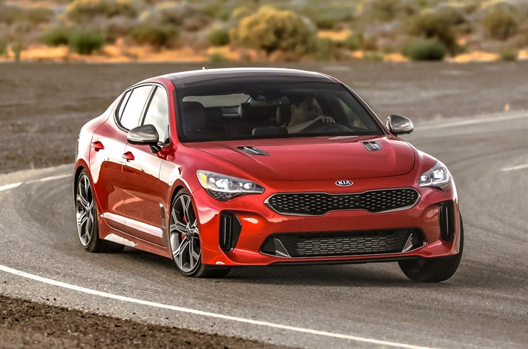 2018 Kia Stinger priced from $32,800, V-6-powered Stinger ...