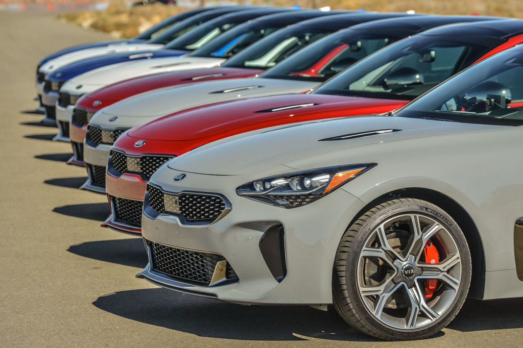 2018 kia stinger first drive review an upscale sporty bargain 2018 kia stinger first drive review an