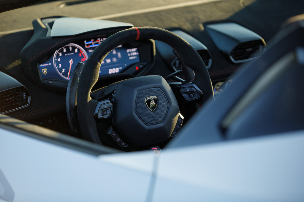 2018 Lamborghini Huracan Performante Spyder, Napa Valley, July 2018