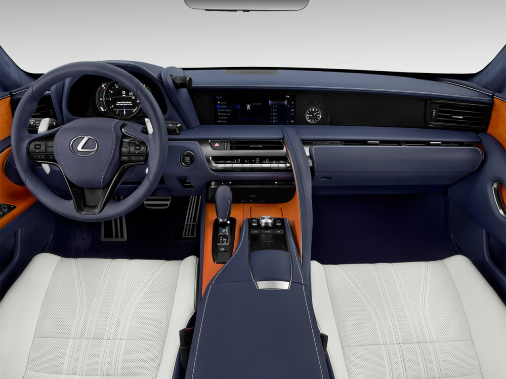 2019 Lexus Lc 500 Preview >> Image: 2018 Lexus LC LC 500 RWD Dashboard, size: 1024 x 768, type: gif, posted on: July 5, 2017 ...
