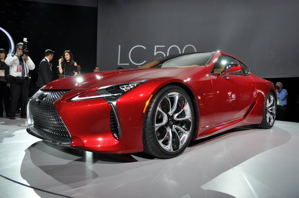 2018 Lexus LC 500 Preview Video