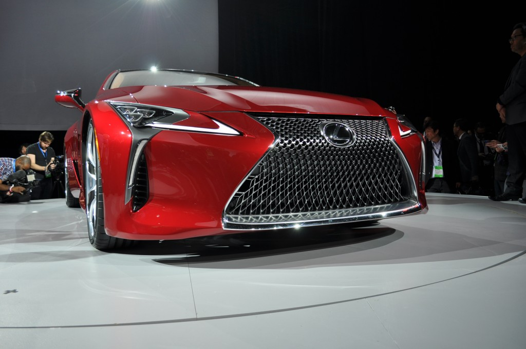 2019 Lexus Lc 500 Preview >> Image: 2018 Lexus LC 500, 2016 Detroit Auto Show , size: 1024 x 680, type: gif, posted on ...
