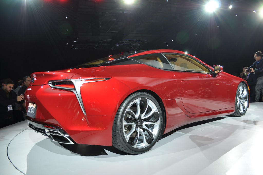 Image: 2018 Lexus LC 500, 2016 Detroit Auto Show , size: 1024 x 680, type: gif, posted on ...