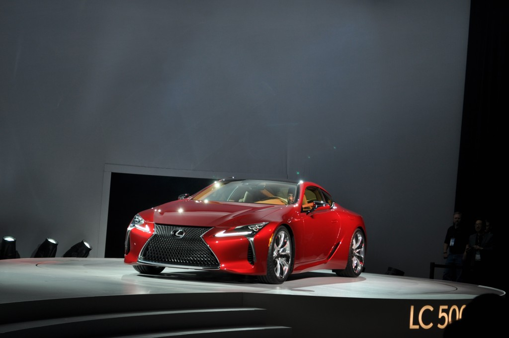 2019 Lexus Lc 500 Preview >> Image: 2018 Lexus LC 500, 2016 Detroit Auto Show, size: 1024 x 680, type: gif, posted on ...