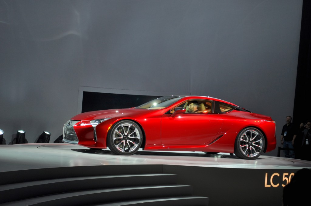 California Electric Car Rebate 2018 >> Image: 2018 Lexus LC 500, 2016 Detroit Auto Show, size: 1024 x 680, type: gif, posted on ...