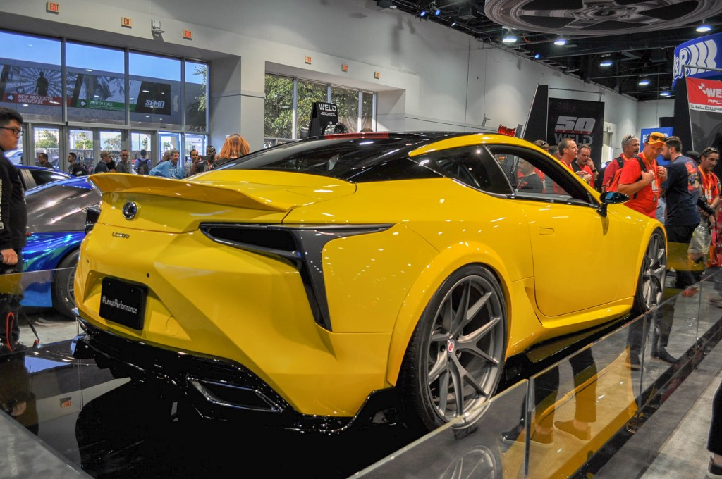 image 2018 lexus lc 500 by gordon ting beyond marketing 2016 sema show size 1024 x 680 type. Black Bedroom Furniture Sets. Home Design Ideas