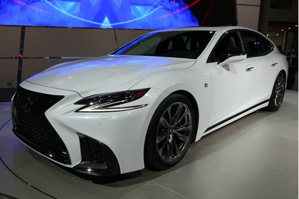 Image: 2018 Lexus LS 500 F-Sport, 2017 New York auto show ...