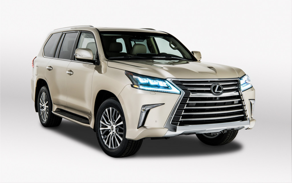 2018 Lexus LX 570 with two rows of seats