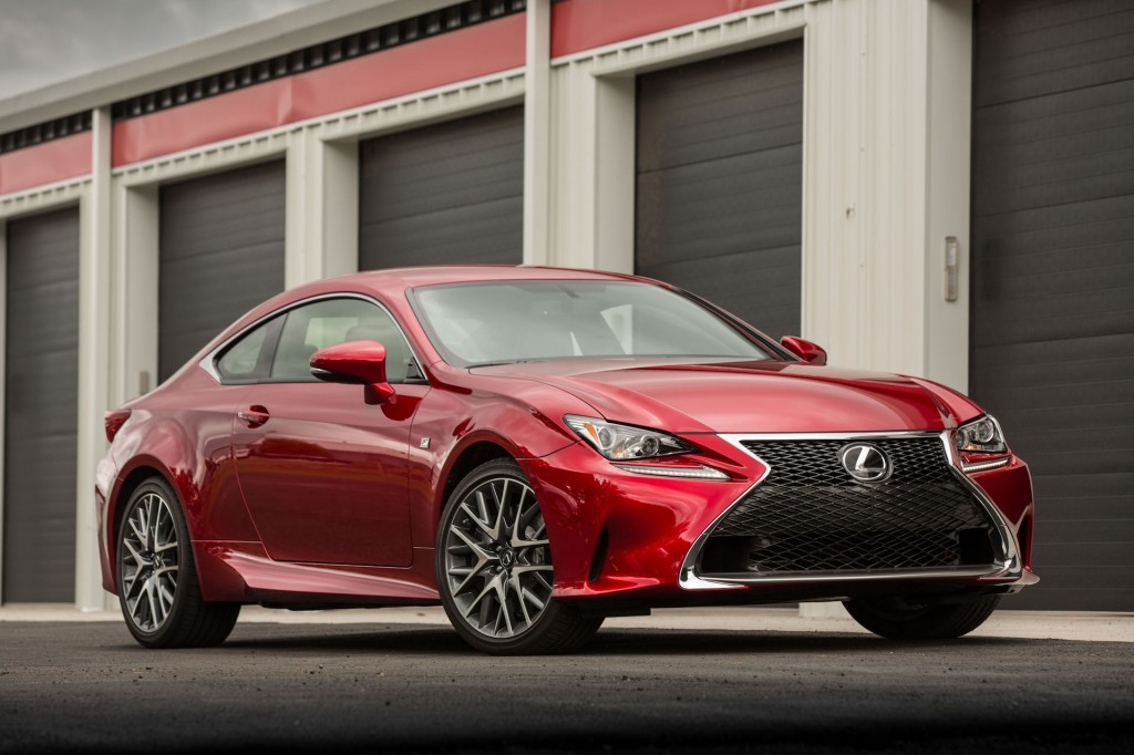 Less for more 2018 lexus rc earns top safety pick award unless less for more 2018 lexus rc earns top safety pick award unless ordered with pricey optional headlights fandeluxe