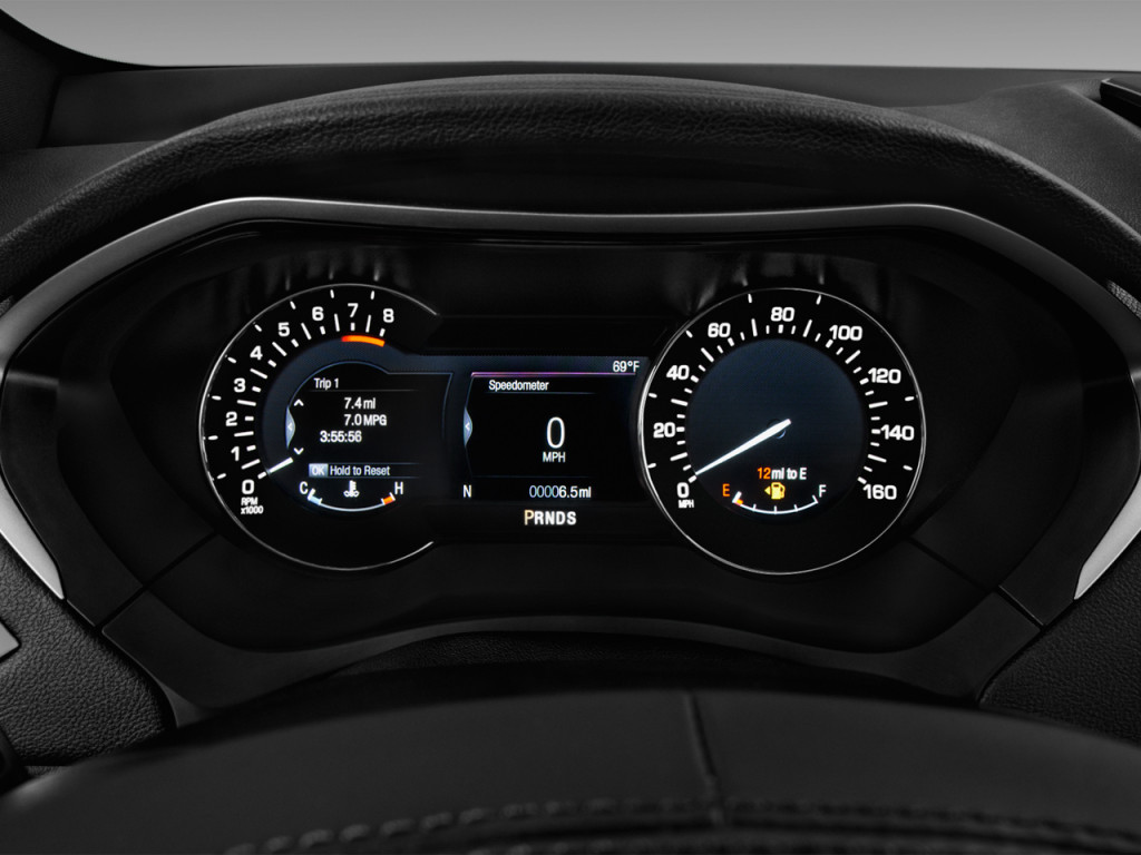 Image: 2018 Lincoln MKZ Reserve FWD Instrument Cluster ...