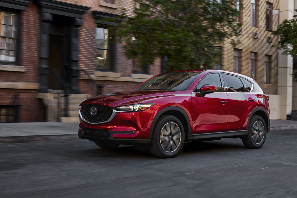 2018 Mazda CX-5 diesel certified by EPA at 29 mpg combined