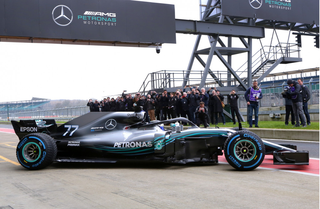 Mercedes-AMG's 2018 F1 car revealed at Silverstone