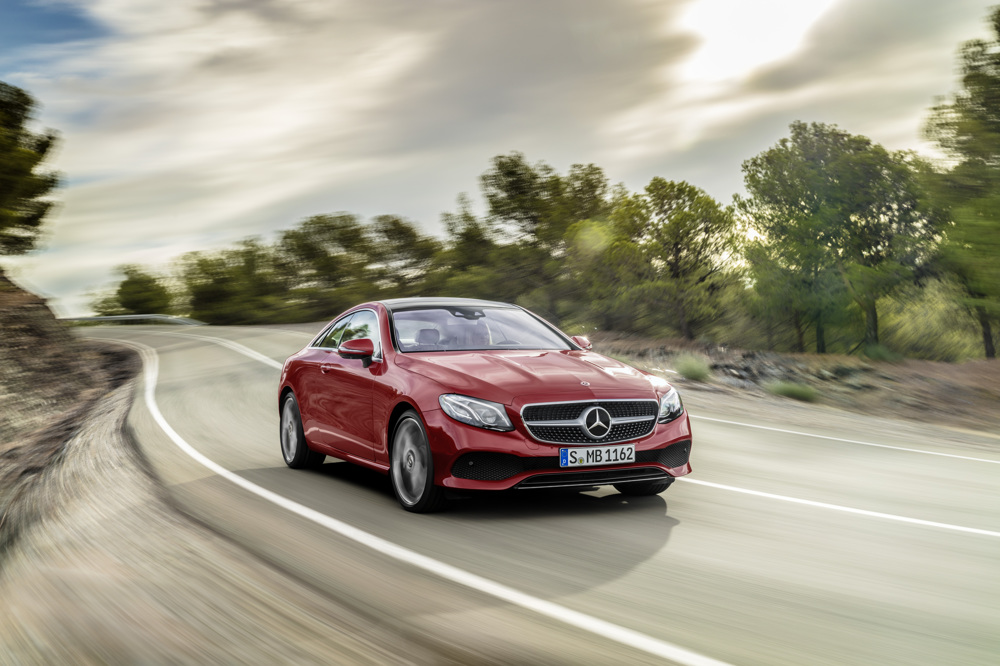 2018 Mercedes Benz E Class Coupe Arrives With Newfound Style