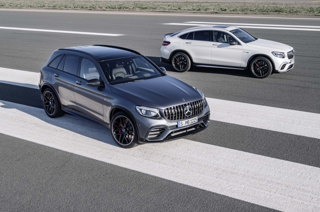 2018 Mercedes-AMG GLC63 and GLC63 Coupe
