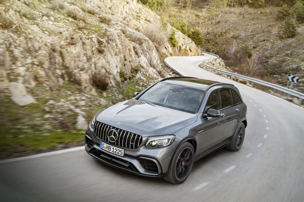 2018 Mercedes-Benz GLC Class (Mercedes-AMG GLC63 SUV)