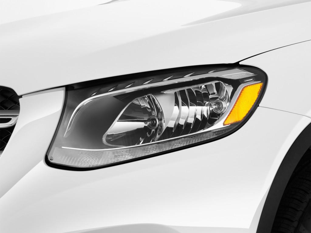 Image: 2018 Mercedes-Benz GLC GLC 300 SUV Headlight, Size