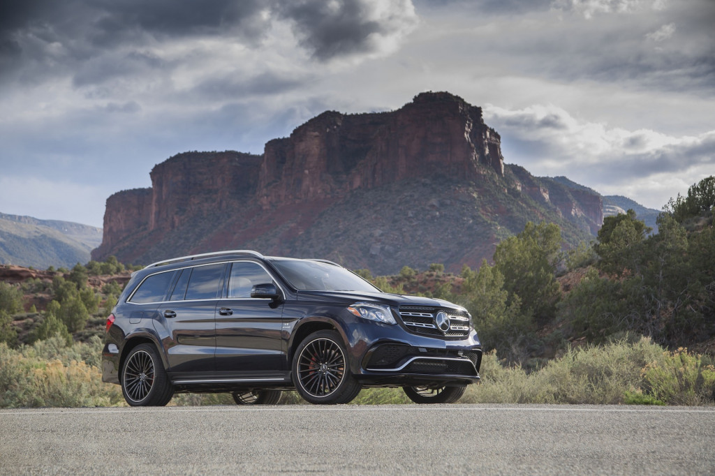 2018 Mercedes Benz Gls Cl Review Ratings Specs Prices And Photos The Car Connection