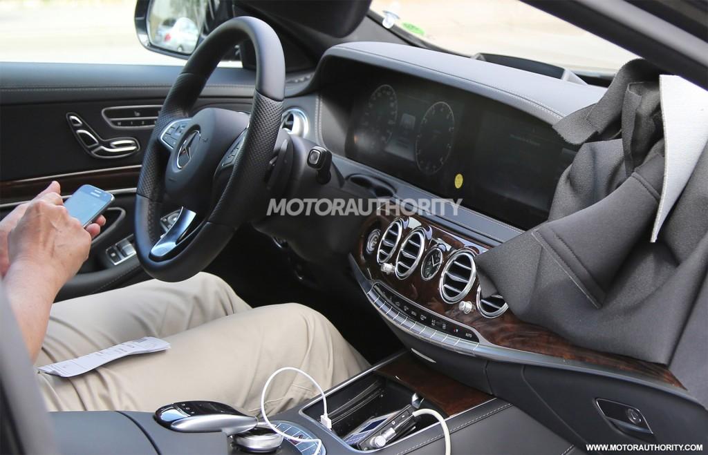 2018 Mercedes Benz S Cl Facelift Spy Shots Image Via Baldauf