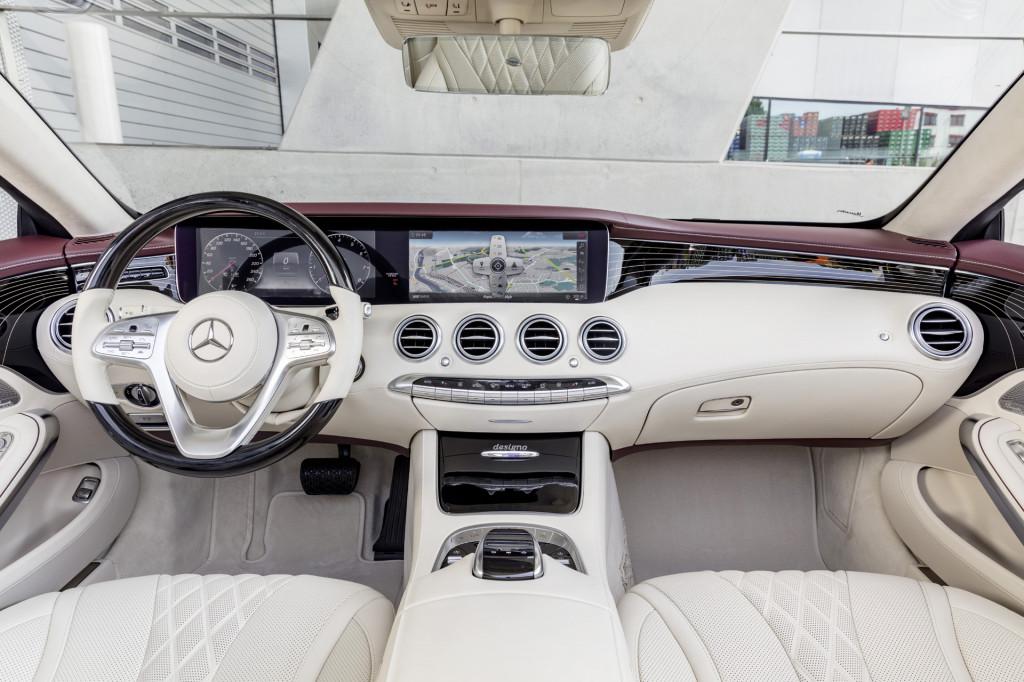 2018 Mercedes-Benz S-Class Cabriolet spy shots