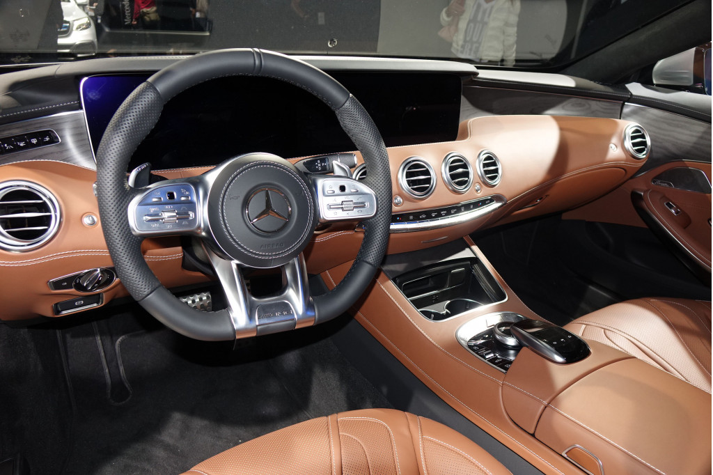 Image 2018 Mercedes Benz S560 4matic Coupe 2017 Frankfurt Auto Show Size 1024 X 682 Type