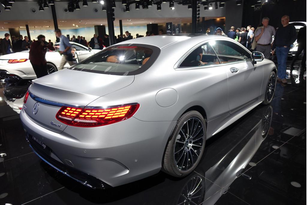 Image 2018 Mercedes Benz S560 4matic Coupe 2017 Frankfurt Auto Show Size 1024 X 682 Type