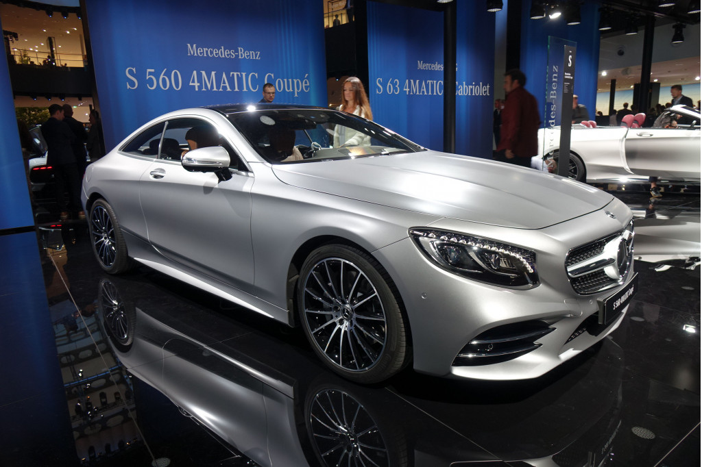 Image 2018 mercedes benz s560 4matic coupe 2017 - Mercedes car show ...