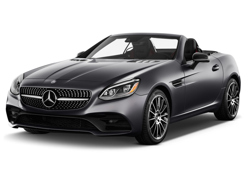 Image 2018 Mercedes Benz Slc Slc 300 Roadster Angular Front Exterior View Size 1024 X 768